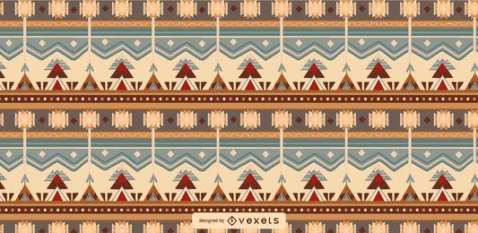 Design de padrão de azulejo asteca