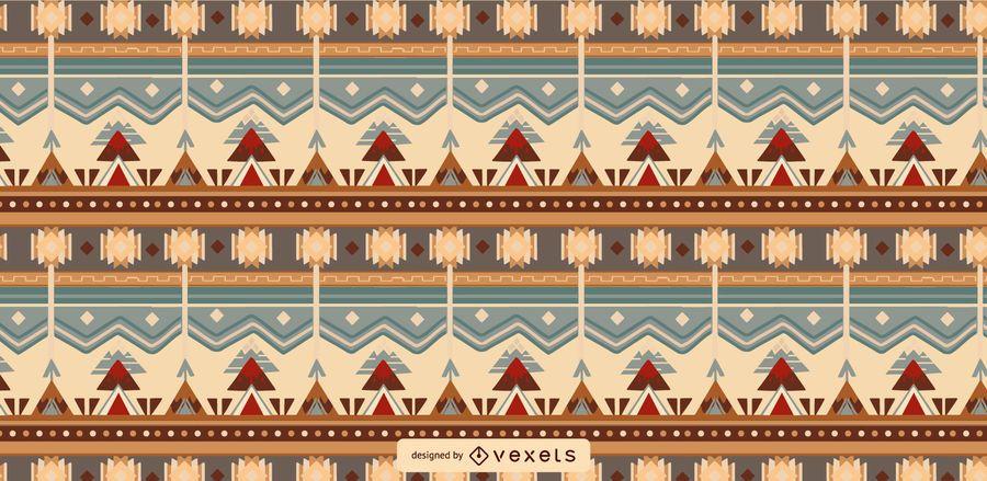 Aztec Tileable Pattern Design