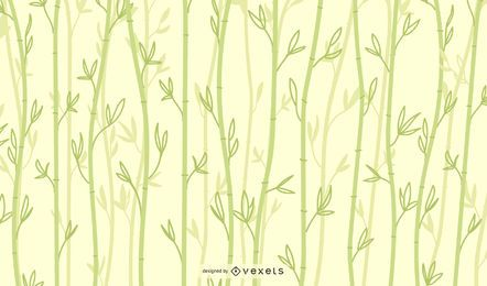Clear Bamboo Background Design