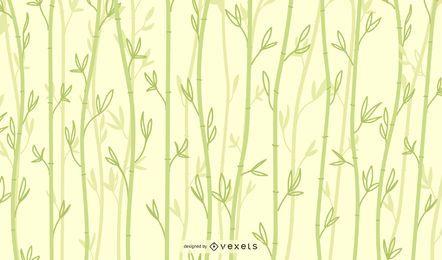 Klares Bambushintergrunddesign