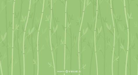 Design de fundo de bambu