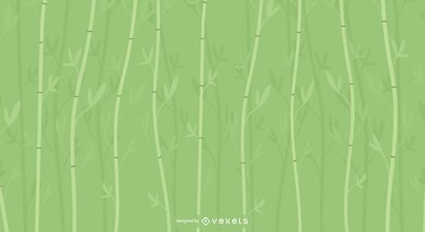 Hintergrunddesign des Bambus