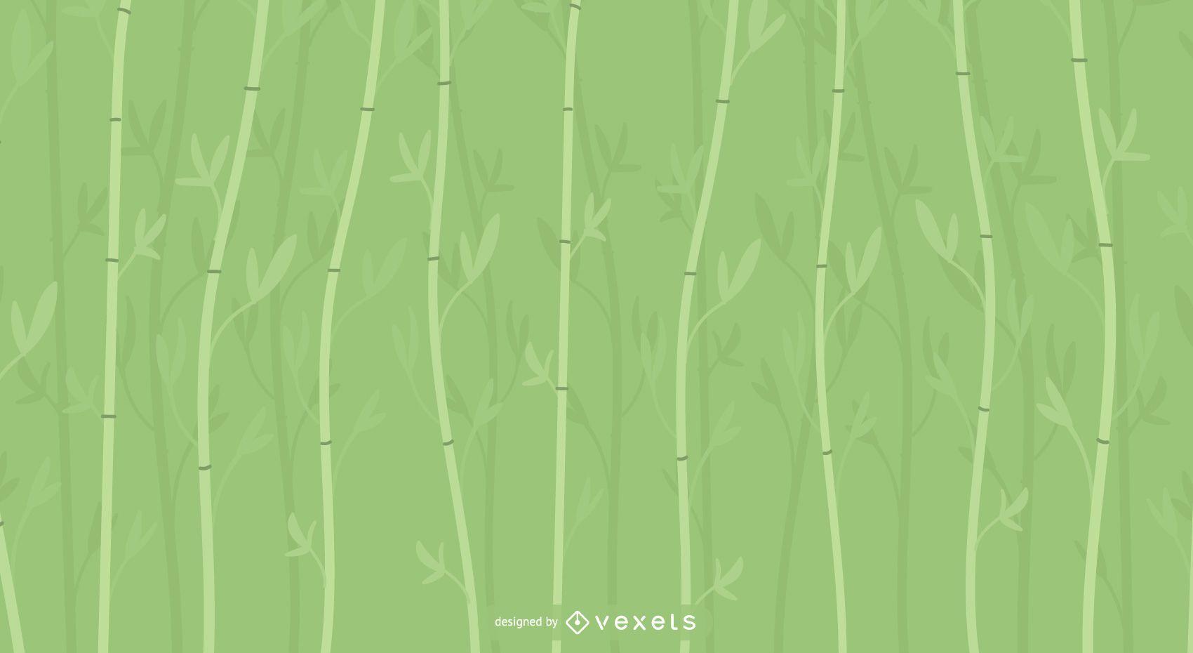 Diseño de fondo de bambú