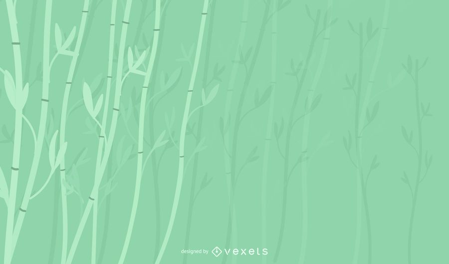 Bamboo plant background design