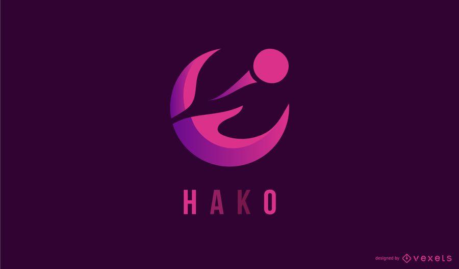 Kreatives abstraktes Logo-Design