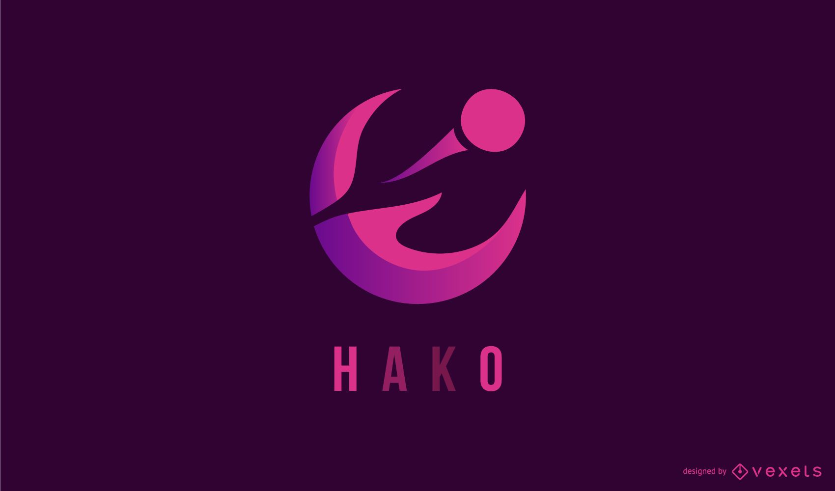 Diseño de logotipo abstracto creativo