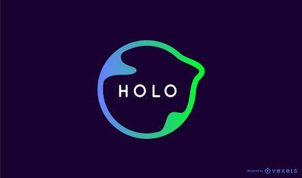 Design de logotipo de fluxo criativo
