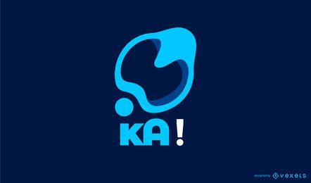 Kreatives Blot-Logo-Design