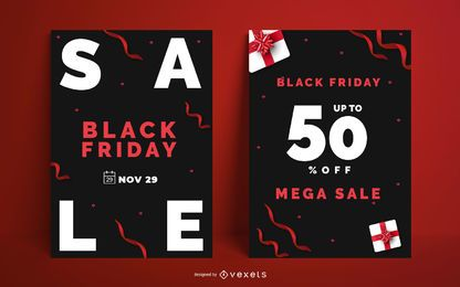 Black Friday Poster Design Pack