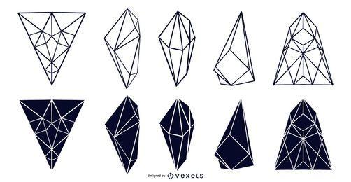 Coleção Geometric Design Crystal