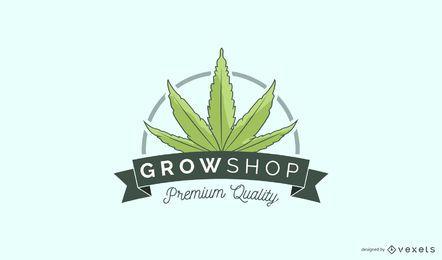Growshop individuelles Logo Design