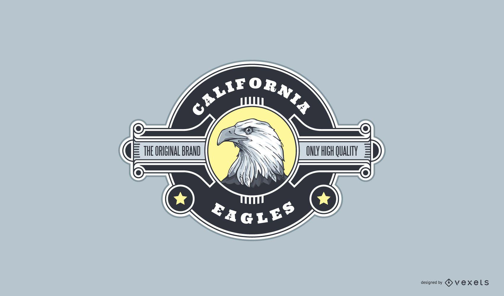 California Eagle Sport Logo Design