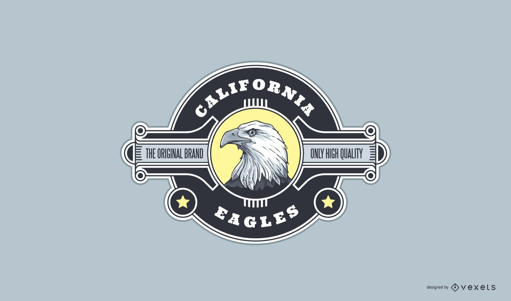 Diseño de logotipo California Eagle Sport