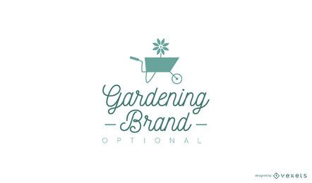 Design de logotipo de jardinagem
