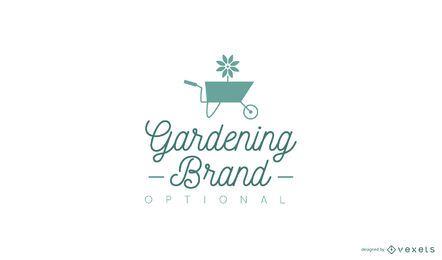 Design de logotipo de jardinagem