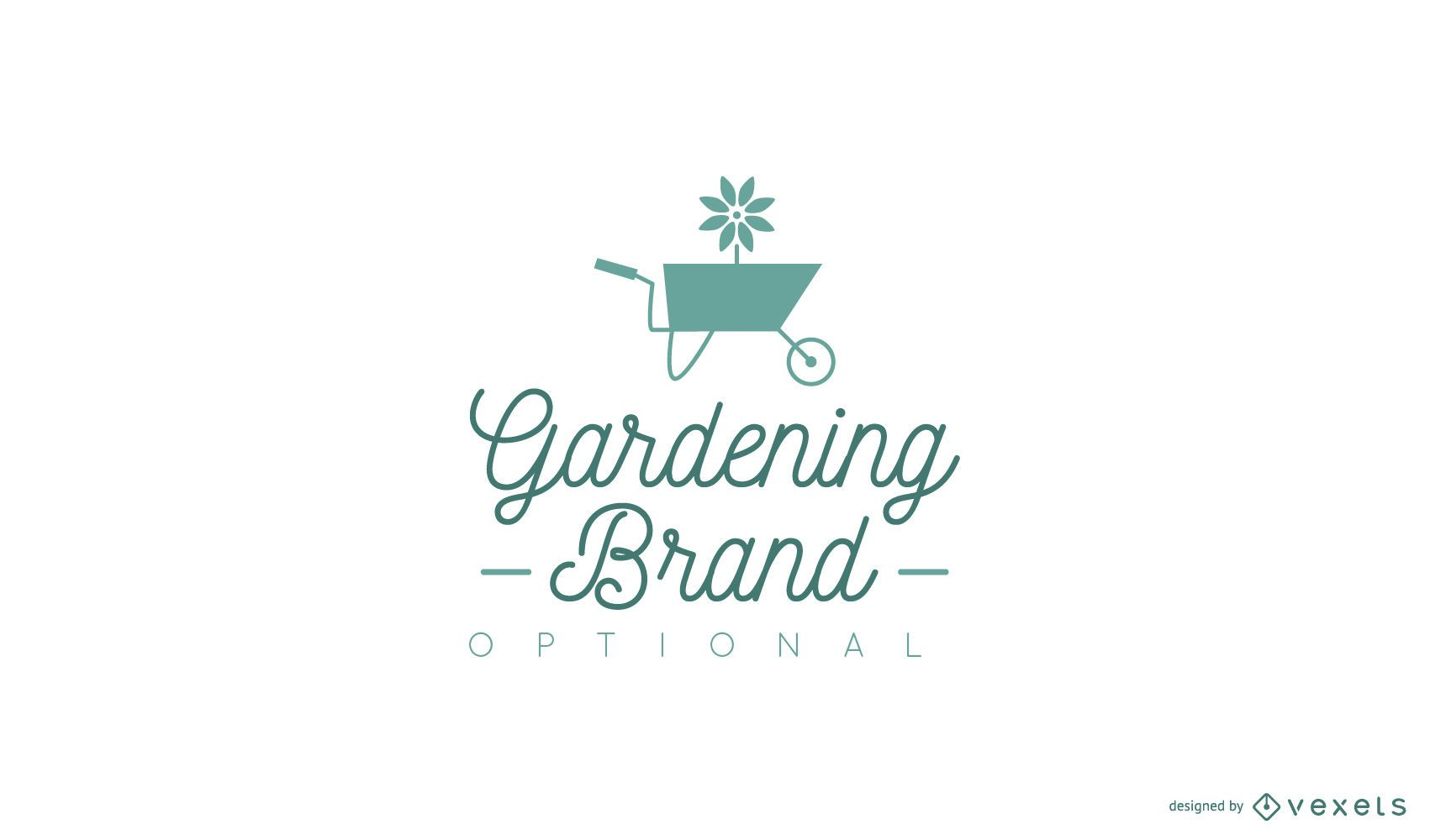 Gardening logo design