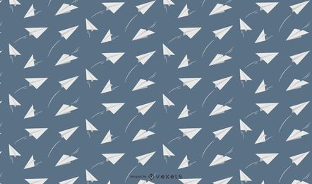 Paper airplanes pattern design