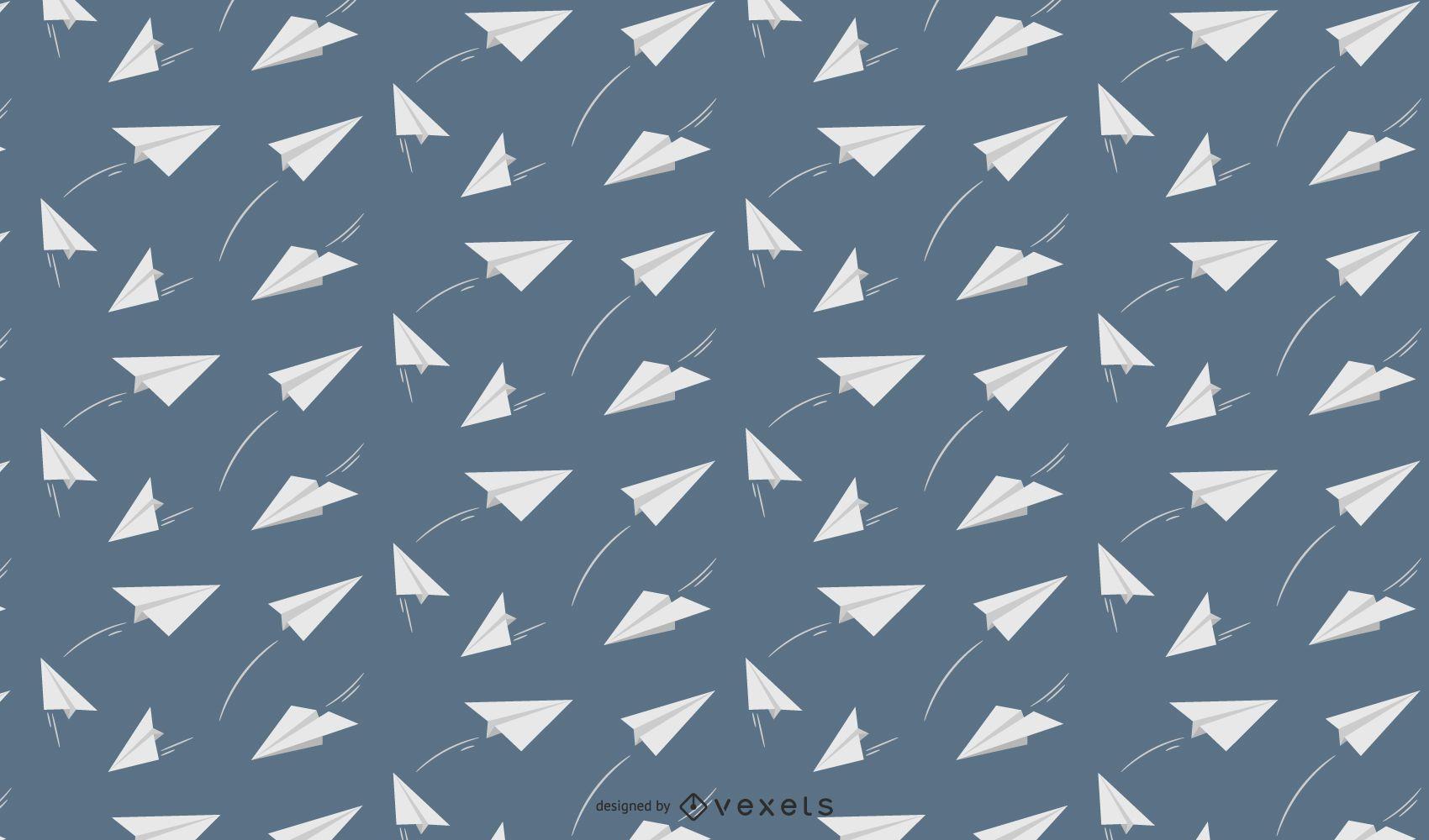 Projeto de padrão de aviões de papel