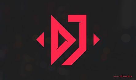 Design de logotipo de música de DJ