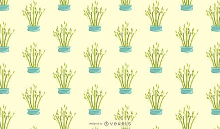 Lucky bamboo pattern design