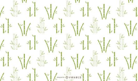Bambus minimales Muster Design