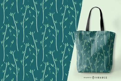 Bambus elegantes Muster Design