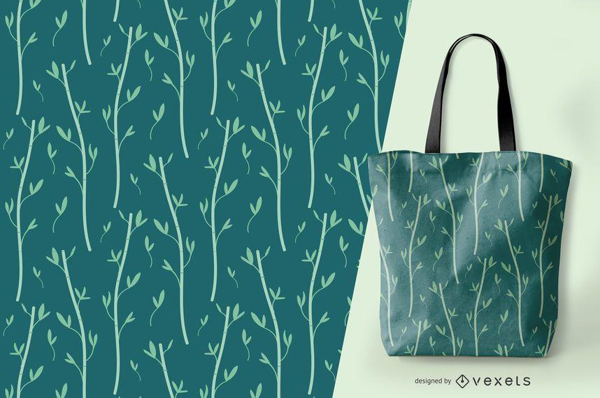 Bamboo elegant pattern design