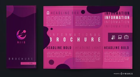 Abstract creative brochure template