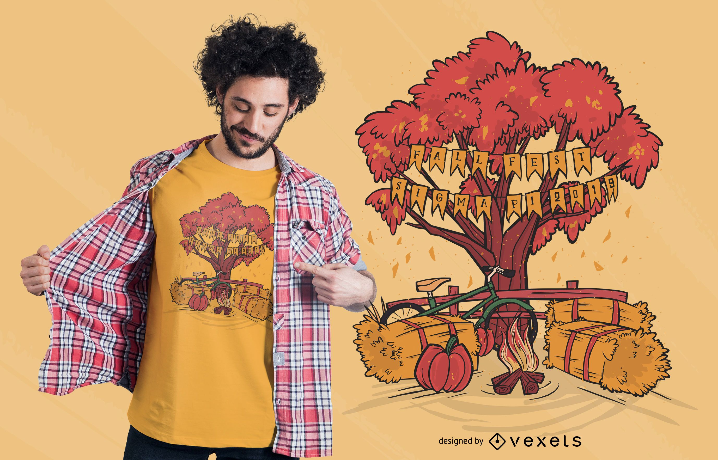 Sigma Pi Fraternity Fall T-shirt Design