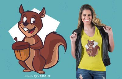 Chipmunk t-shirt design
