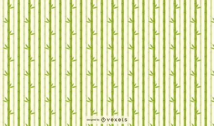 Diseño de patrón claro de árbol de bambú
