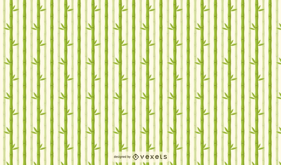 Bamboo Tree Clear Pattern Design