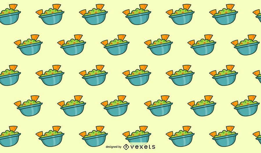 Guacamole pattern design