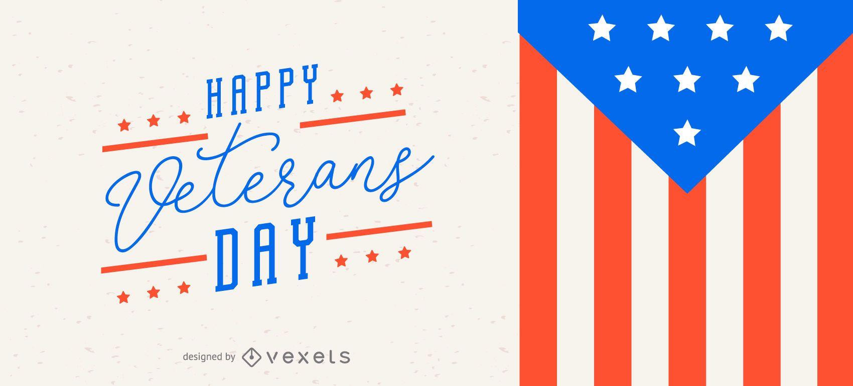 Veterans day slider design