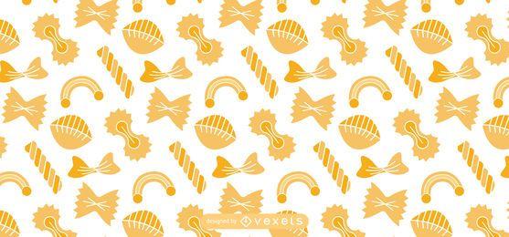Diseño de patrón de pasta italiana