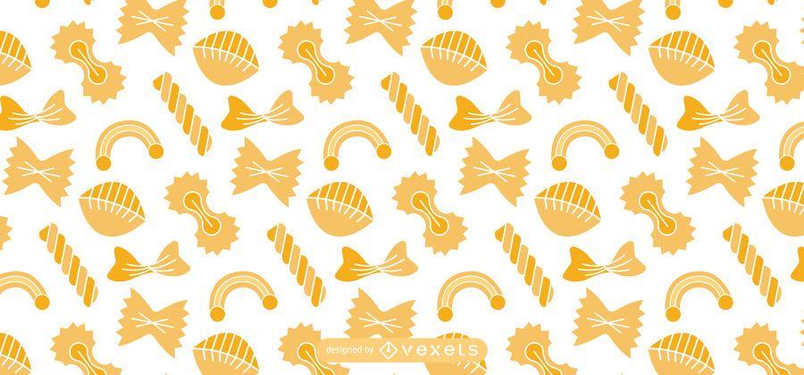 Italian pasta pattern design