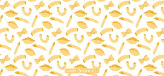Diseño de patrón de pasta plana
