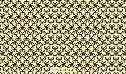 Desenho de padrão asiático