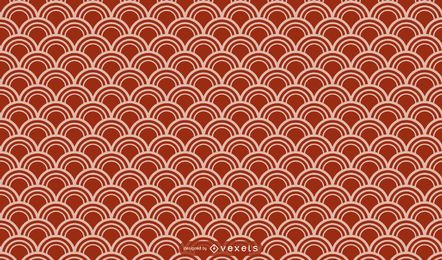 Asian geometric pattern design