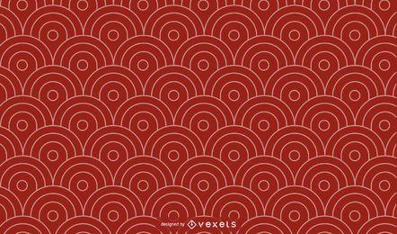 Design de padrão geométrico simples chinês