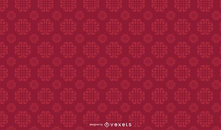 Chinese geometric pattern design