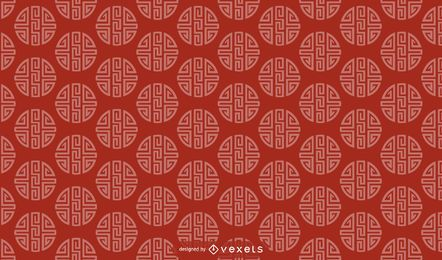 Chinesisches Musterdesign