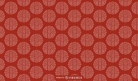 Diseño de patrón chino