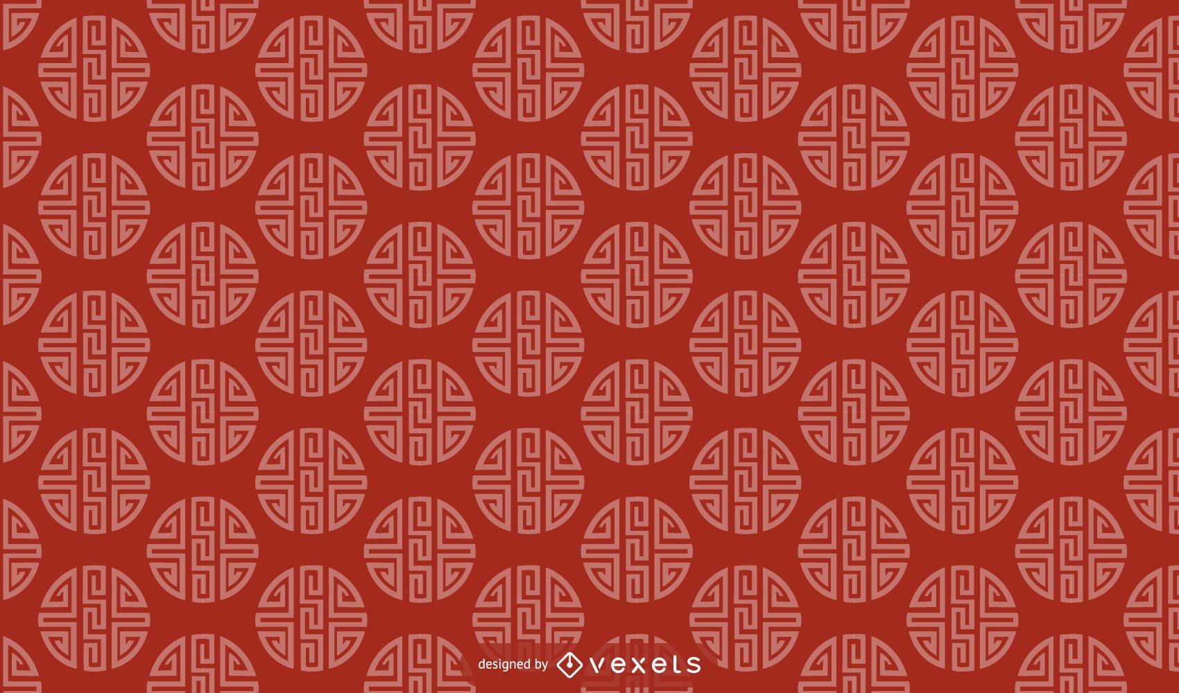 Chinese pattern design