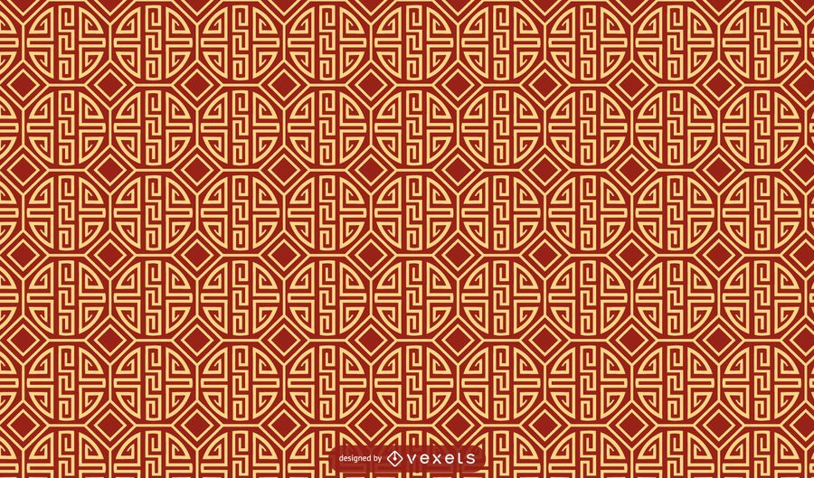Chinese traditional pattern design
