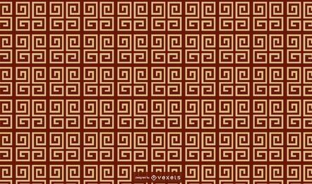 Geometric chinese pattern design