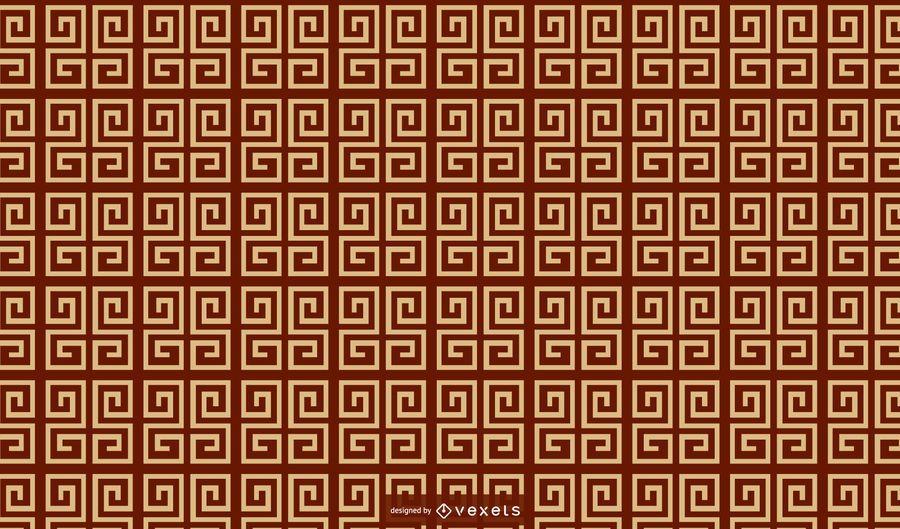 Geometric chinese pattern design