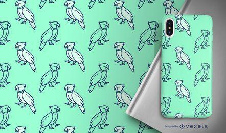 Design de padrão de papagaio