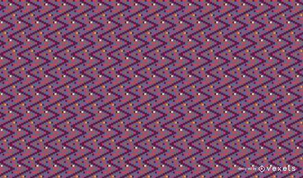 Design de padrão ziguezague colorido