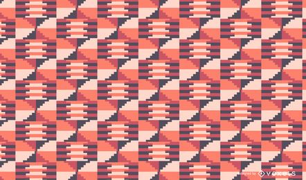 Pink tribal pattern design